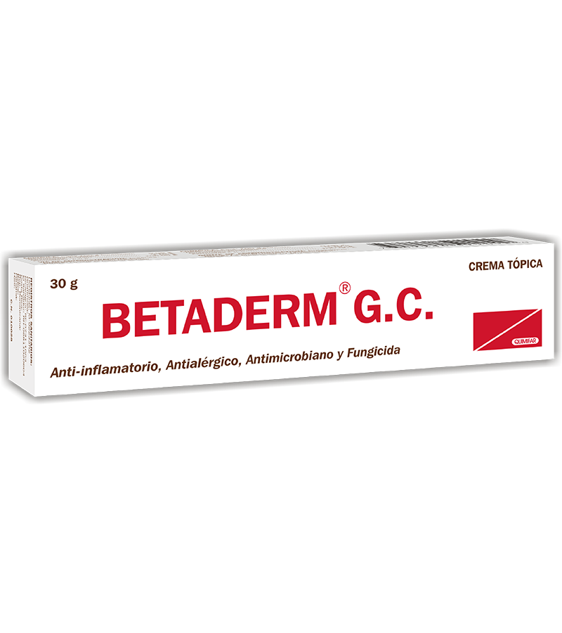 Betaderm GC Crema tubo 30 g