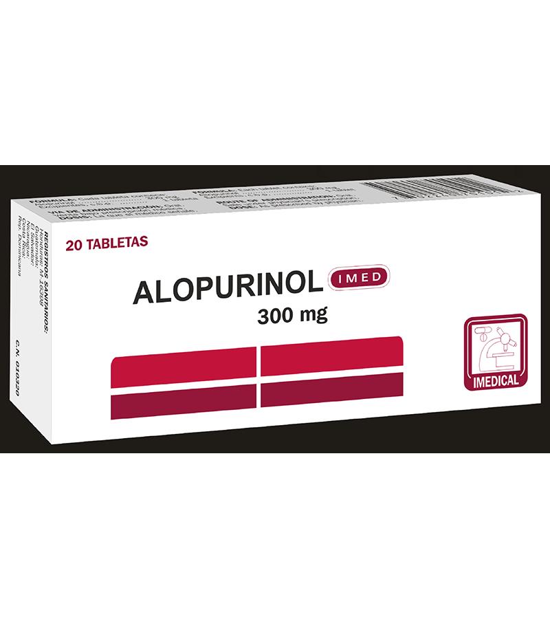 Alopurinol Tableta 300 mg caja x20