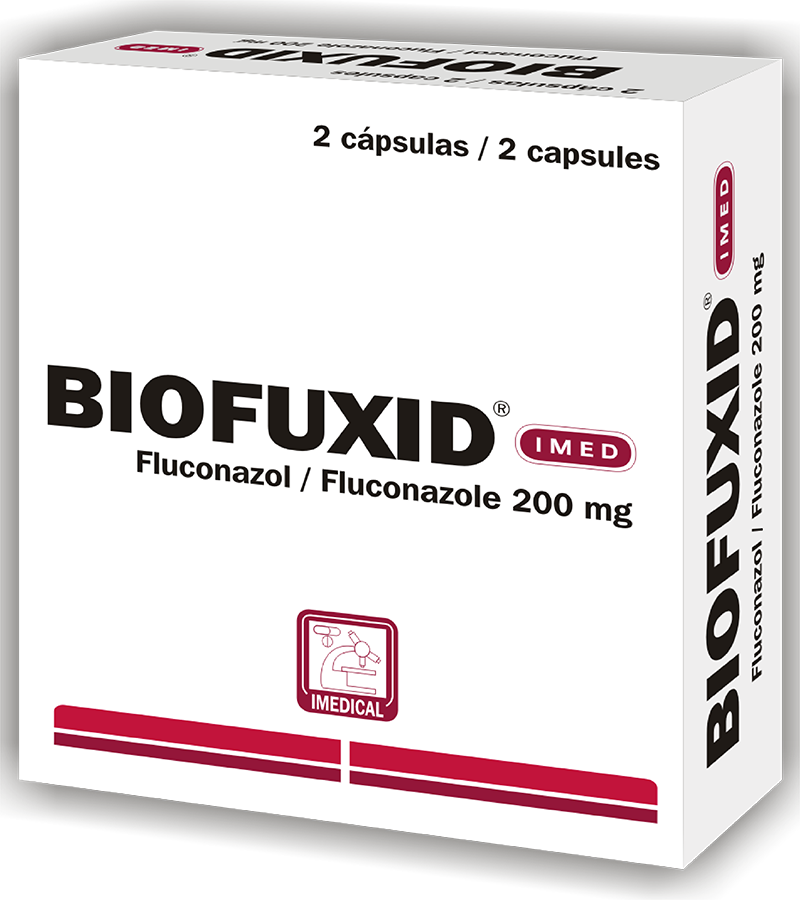 Biofuxid Capsula 200 mg caja x2