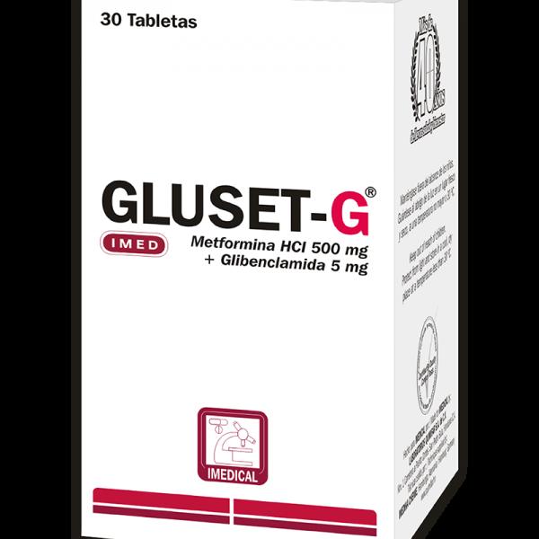 Gluset-G Tableta 850 mg caja x30