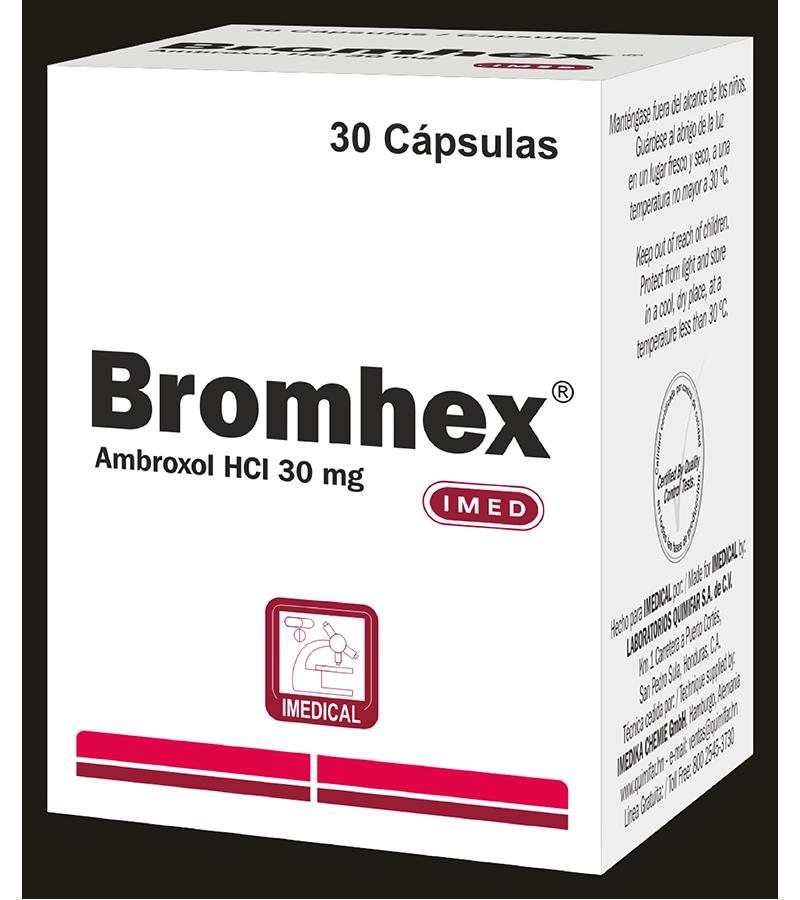 Bromex Capsula 30 mg caja x30