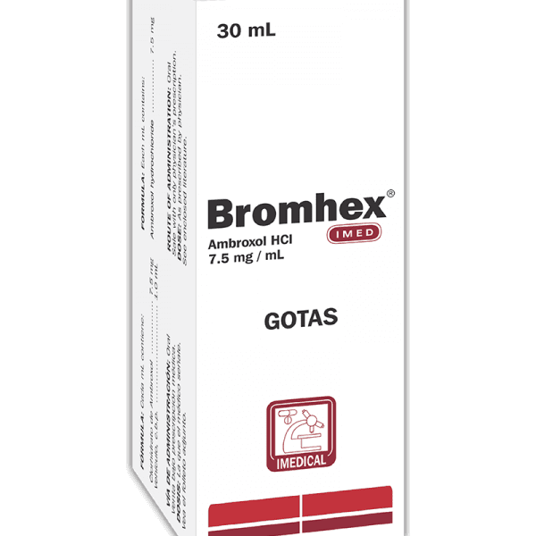 Bromex Gotas 7.5 mg / 1 ml frasco 30 ml