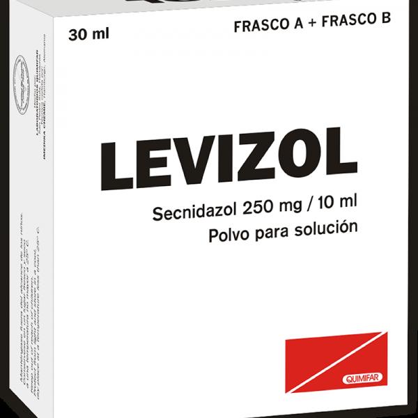 Levizol Polvo para Solucion 125 mg / 5 ml frasco 30 ml
