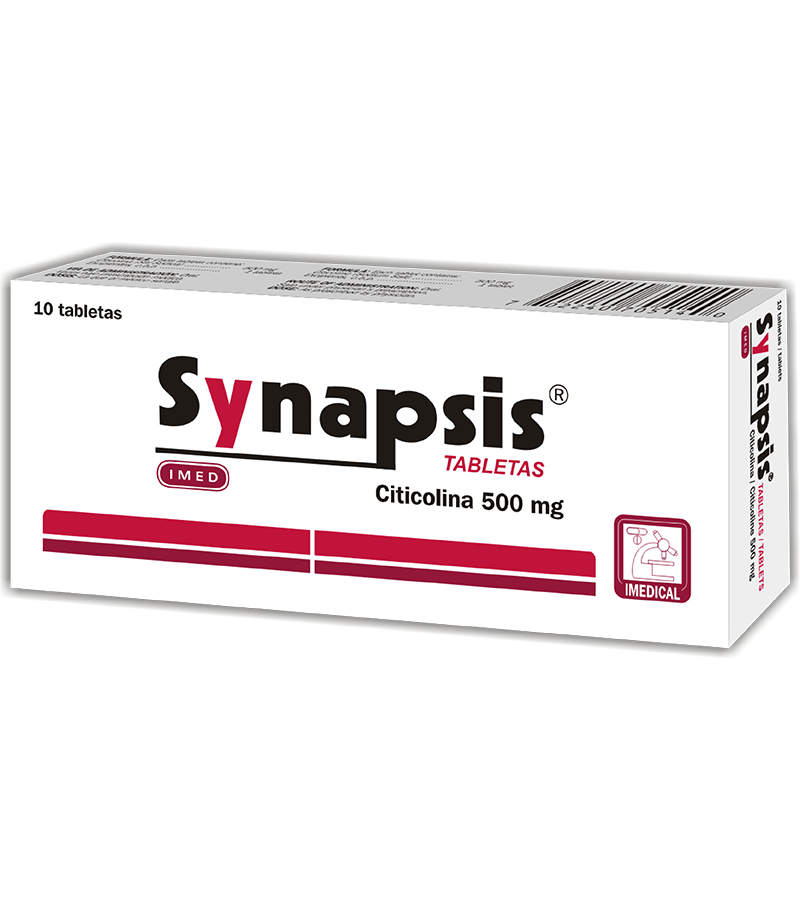 Synapsis Tableta 500 mg caja x10