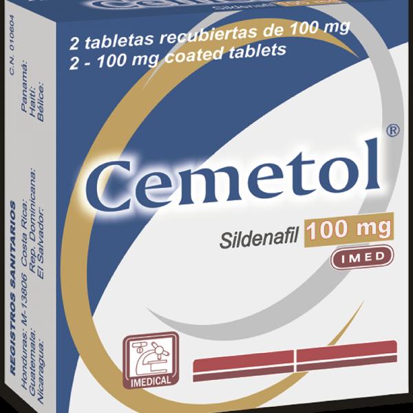 Cemetol Ampolla Bebible 100 mg caja x2