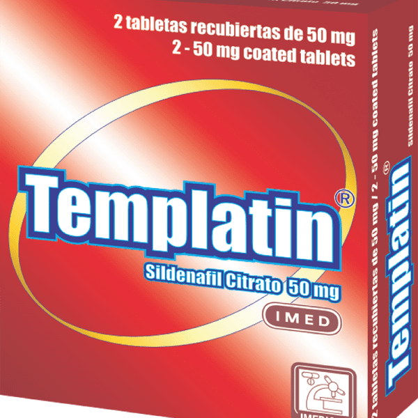 Templatin Tableta 50 mg caja x2
