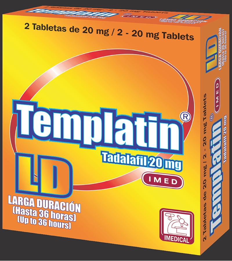 Templatin LD Tableta 20 mg caja x2
