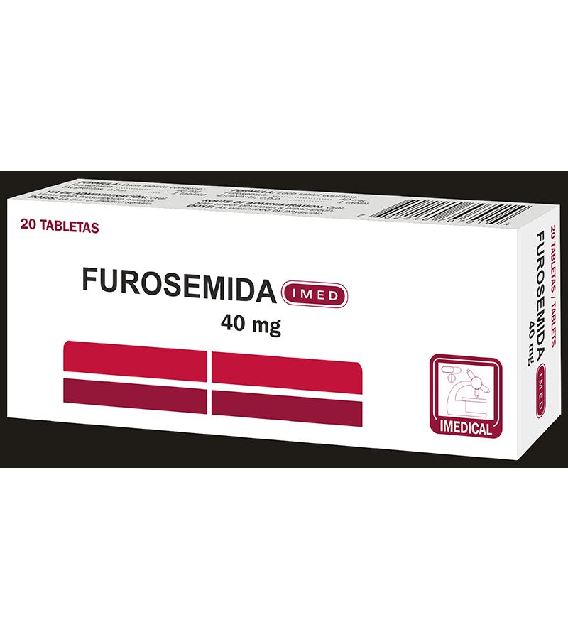 Furosemida Tableta 40 mg caja x20