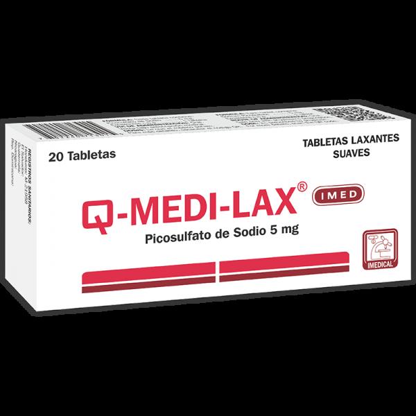 Medi-Lax Comprimido 5 mg caja x20