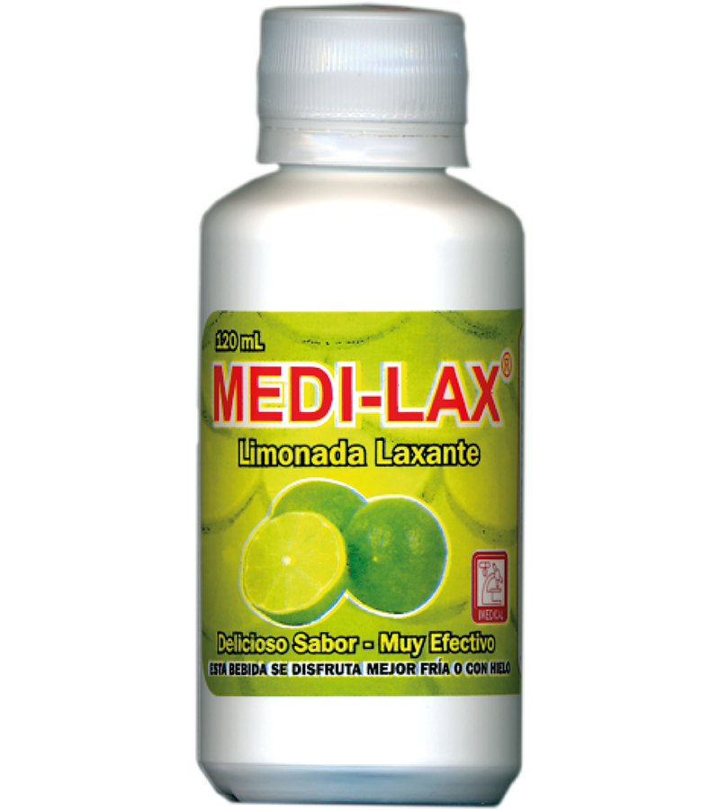 Medi-Lax Limonada Laxante frasco 120 ml