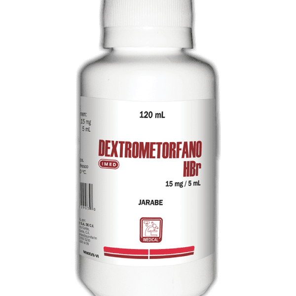 Dextrometorfano Jarabe frasco 120 ml