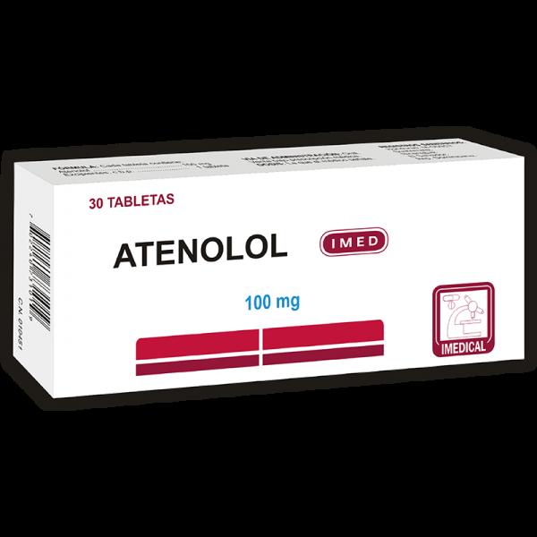 Atenolol Tableta 100 mg caja x30