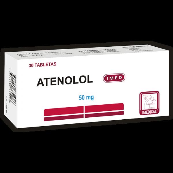 Atenolol Tableta 50 mg caja x30