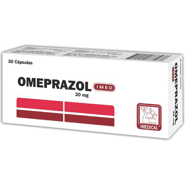 Omeprazol Capsula 20 mg caja x30