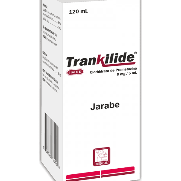 Trankilide Jarabe 9 mg / 5 ml frasco 120 ml