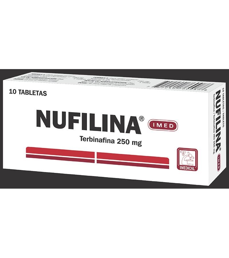 Nufilina Tableta 250 mg caja x10