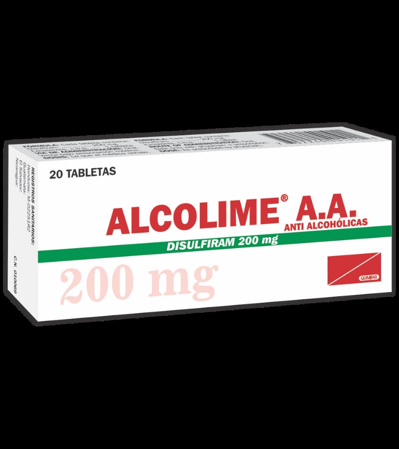 44101- Alcolime 200 mg x 20 Tabletas
